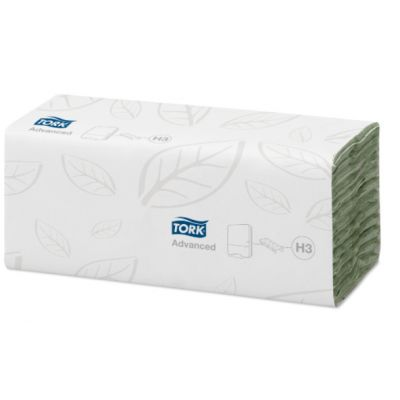 Tork C-vouw Handdoek 2-laags Groen XL H3 Advanced