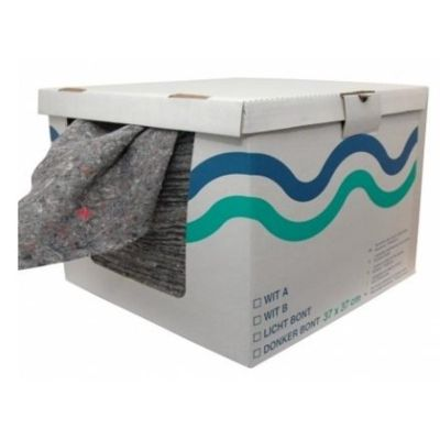 Euro Products Donkerbont doek A-kwaliteit, 37cm x 37cm