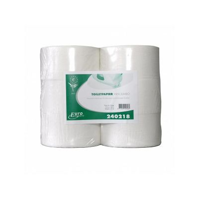 Euro Products Toiletpapier tissue euro mini jumbo, 2-laags