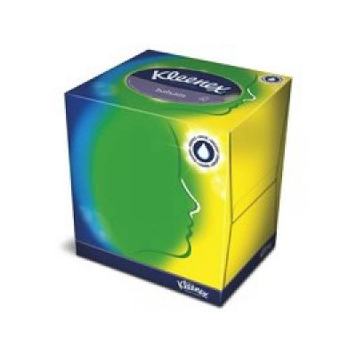 KLEENEX® Facial Tissue - Kubus - Wit - box
