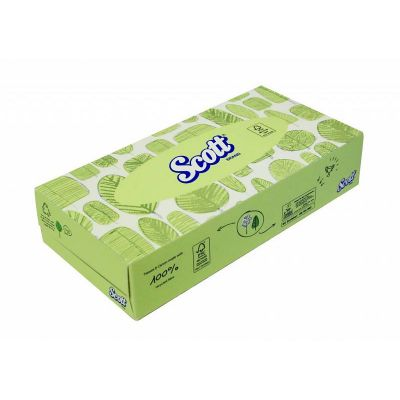 SCOTT® Facial Tissue - Standaard - Wit
