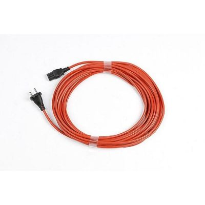 Numatic stofzuiger kabel oranje - 12,5 m 12.5m 1mm x 2 aderig PPR Plugged
